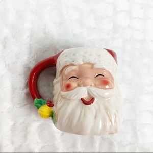 Cracker Barrel Jingle & Mingle Santa mug